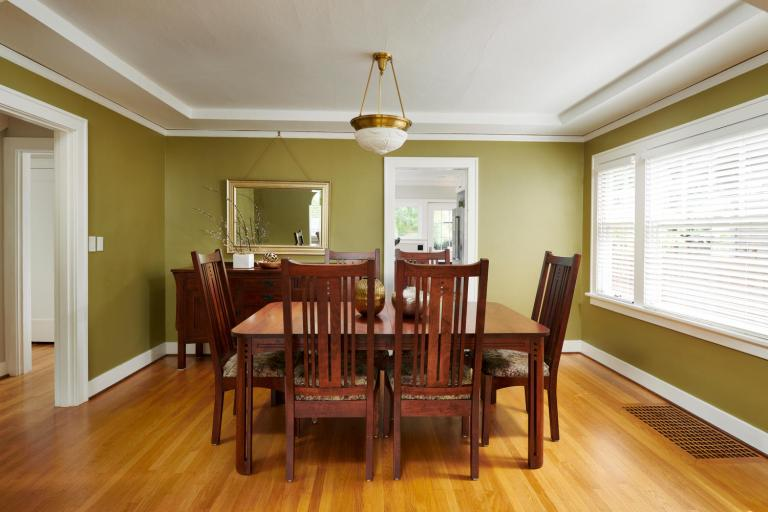 Formal dining room Portland Oregon home for sale