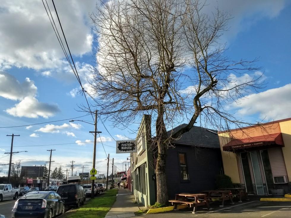 Foster Powell Foster road Foster Burger exterior Portland Oregon Susie Hunt Moran