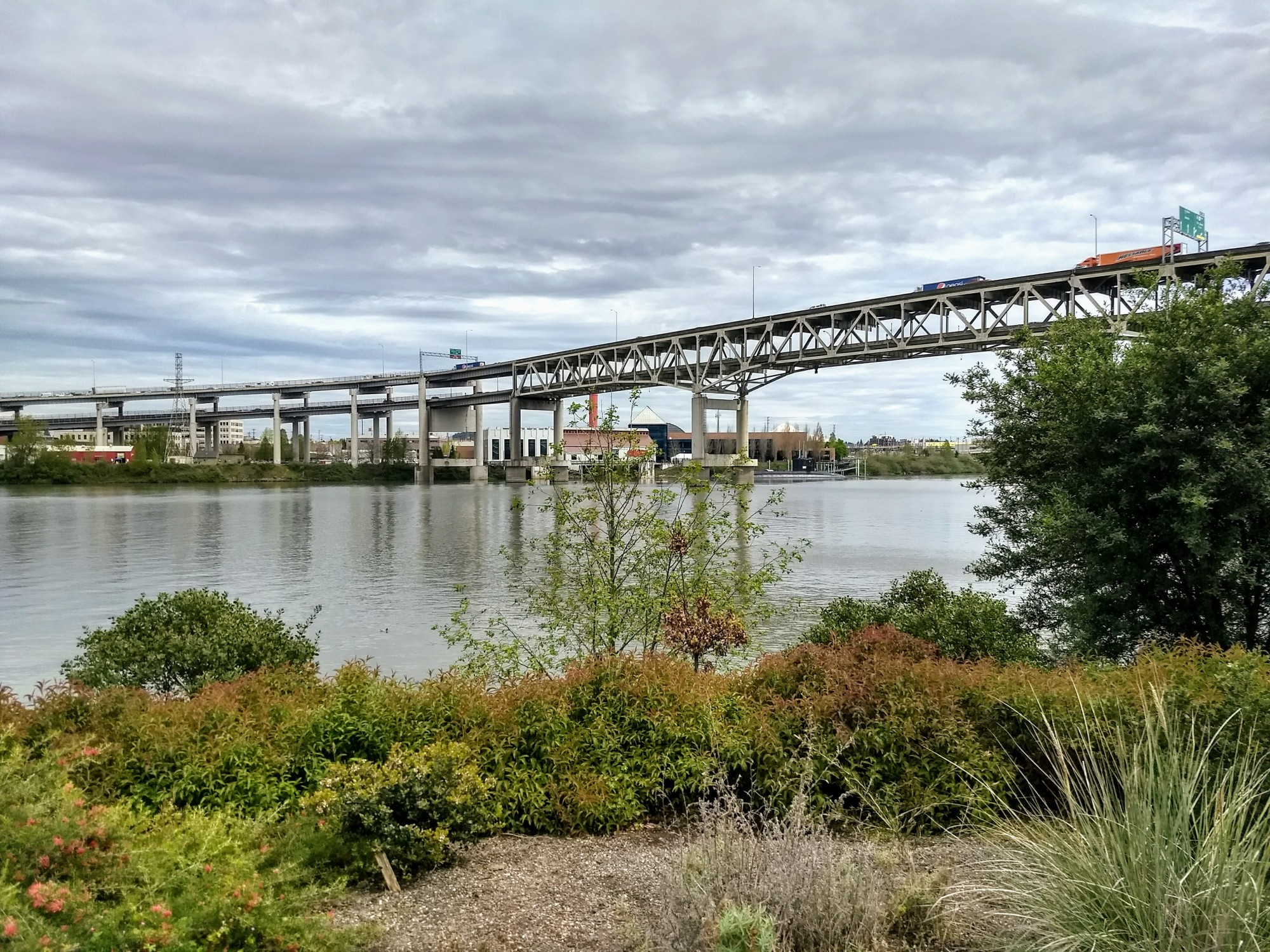 Portland waterfront bridge