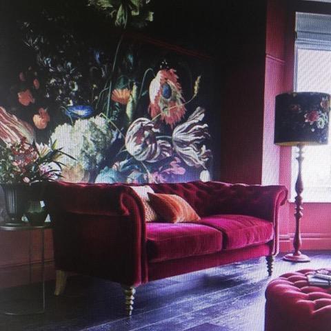 Floral print wall art portland kimberleejaynes.com