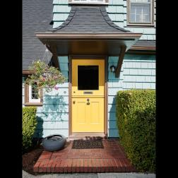 Dutch door - front door- exterior English style cottage