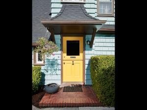 Dutch door - front door- exterior English style cottage