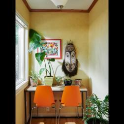 kitchen nook sunny