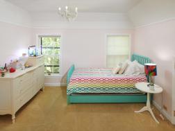 bedroom upstairs window carpet coved ceiling