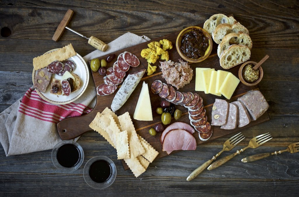 Charcuterie of the Month board from Olympia Provisions in Portland Oregon