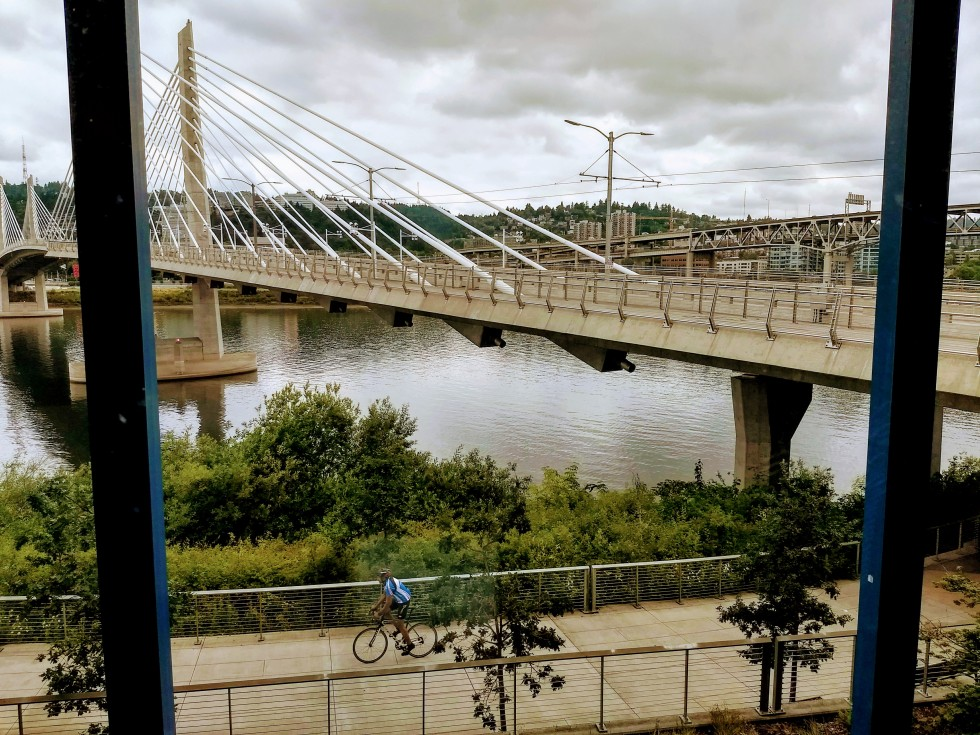 Tilikum Crossing view from Portland All Classical