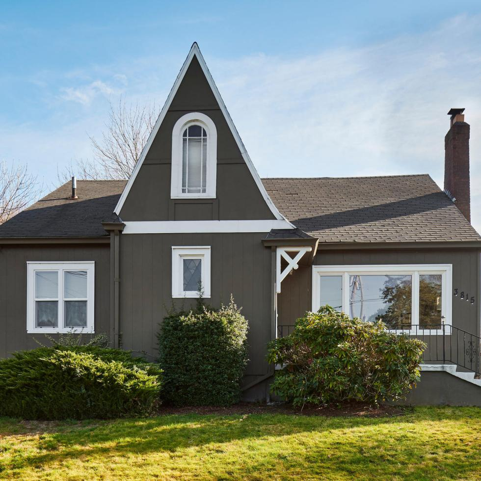 Exterior of house - English style in Alameda Northeast Portland - for sale