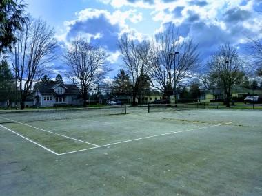 Tennis courts at Essex Park