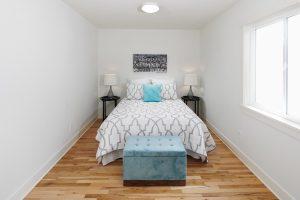 Master suite in Midcentury remodeled home SE Portland