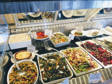 Providore Fine Foods salad bar