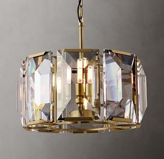 Restoration Hardware crystal chandelier