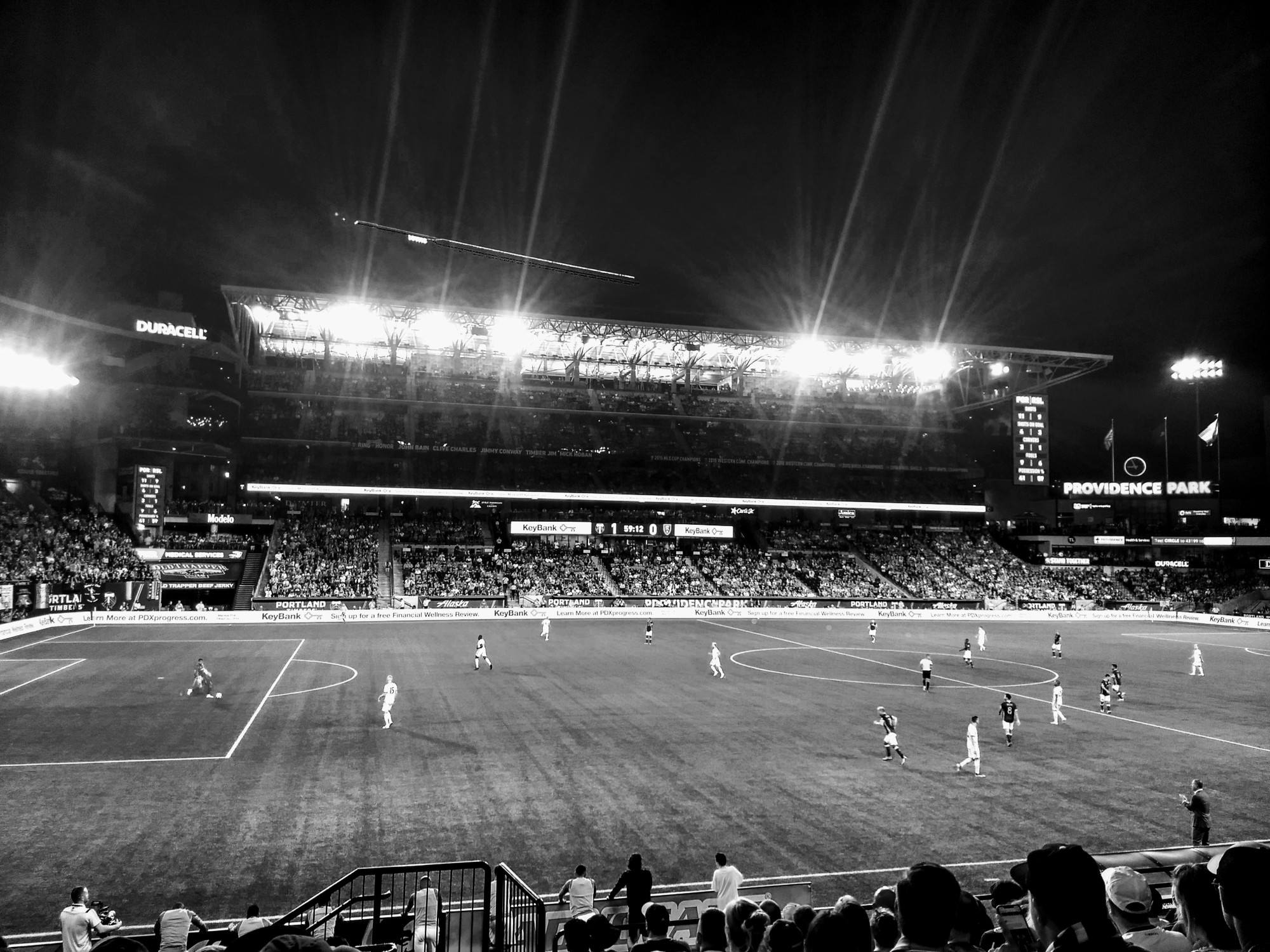 Providence Park at Night